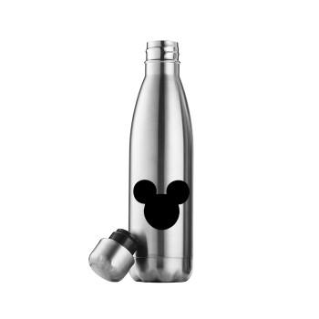 mouse man, Μεταλλικό παγούρι θερμός Inox (Stainless steel), διπλού τοιχώματος, 500ml