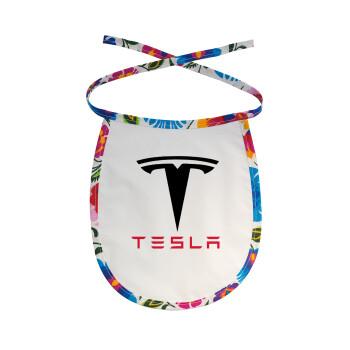 Tesla motors, Σαλιάρα μωρού αλέκιαστη με κορδόνι Χρωματιστή