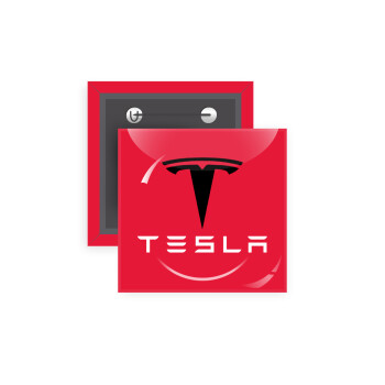 Tesla motors, Κονκάρδα παραμάνα τετράγωνη 5x5cm