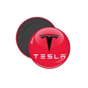 Tesla motors, Μαγνητάκι ψυγείου στρογγυλό διάστασης 5cm
