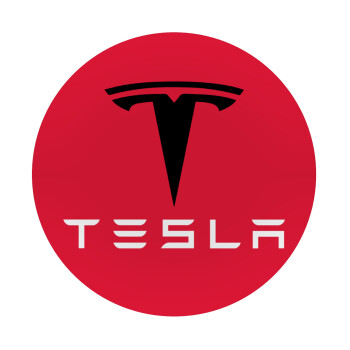 Tesla motors, Mousepad Στρογγυλό 20cm